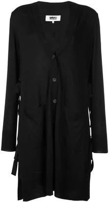 MM6 MAISON MARGIELA longline buttoned cardigan