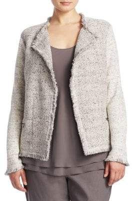Nic+Zoe Plus Plus Chilled Open Front Blazer
