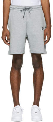 Nike Grey Tech Fleece NSW Shorts