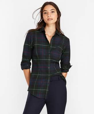 Brooks Brothers Plaid Cotton Flannel Shirt