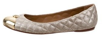 Tory BurchTory Burch Quilted Cap-Toe Flats