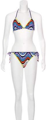 Missoni Printed Two-Piece Swimsuit w/ Tags