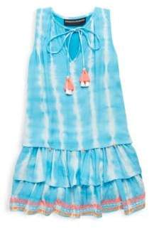 Hemant & Nandita Toddler's, Little Girl's and Girl's Dip-Dyed Tunic