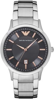 Emporio Armani Analog Renato Stainless Streel Bracelet Watch