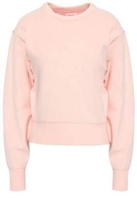 Rag & Bone Embroidered Cotton-blend Fleece Sweatshirt