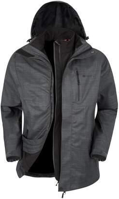 Warehouse Mountain Bracken Melange 3 in 1 Mens Jacket - Winter