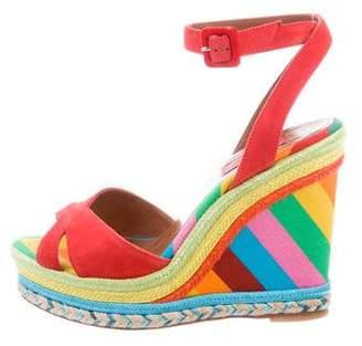 Valentino 1973 Wedge Sandals