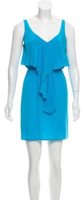 Amanda Uprichard Silk Sleeveless Dress