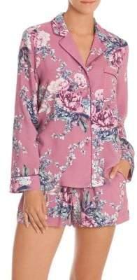 In Bloom Bed of Roses Pajama Short Set