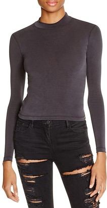 American Apparel Brushed Jersey Turtleneck Top $36 thestylecure.com