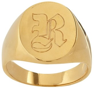 Sarah Chloe Mark And Graham Classic Oval Signet Ring