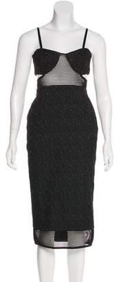 Jonathan Simkhai Patterned Cutout Dress