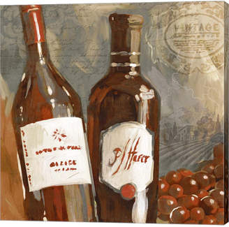 Red Wine I by Edward Selkirk Canvas Art