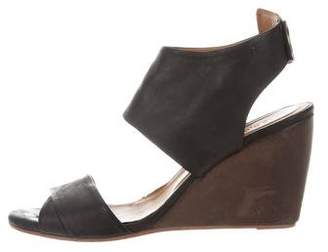 Coclico Leather Wedge Sandals