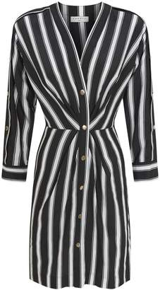 Sandro Stripe Shirt Dress