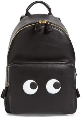 Anya Hindmarch Eyes Mini Leather Backpack