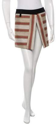 Barbara Bui Striped Mini Skirt w/ Tags