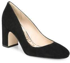 255189da1566 Sam Edelman Black Block Heel Pumps - ShopStyle