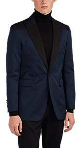 Burberry MEN'S ZIGZAG-JACQUARD ONE-BUTTON TUXEDO JACKET - NAVY SIZE 50 EU 00505054664395