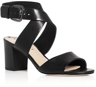 Via Spiga Carson Crisscross High Heel Sandals $195 thestylecure.com