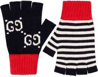 Gucci Cotton fingerless gloves