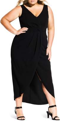 City Chic Cherish Maxi Dress