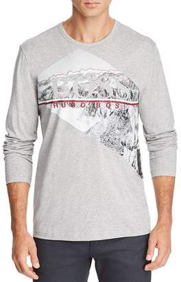 BOSS Togn Long-Sleeve Mountain Graphic Tee