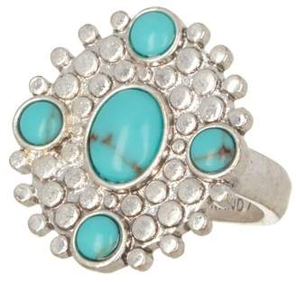 Lucky Brand Turquoise Statement Ring