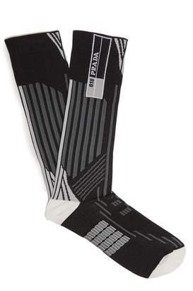 striped socks Prada Clearance Shop Get To Buy Sale Online 6CWro