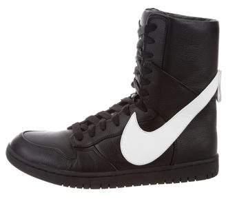 Nike Riccardo Tisci x Dunk Lux Rt High-Top Sneakers