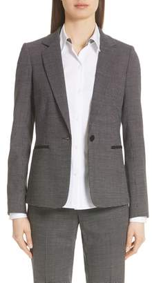 Lafayette 148 New York Lyndon Stretch Wool Blazer