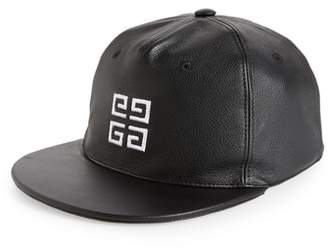 Givenchy 4G Leather Ball Cap