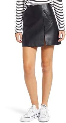 Blank NYC BLANKNYC Faux Leather Miniskirt