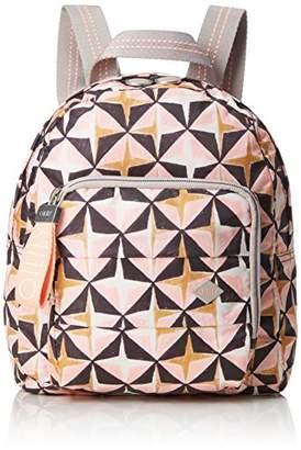 Oilily Ruffles Geometrical Backpack Svz, Women's Handbag,9x26x22 cm (B x H T)