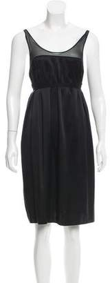 Vince Silk Knee-Length Dress