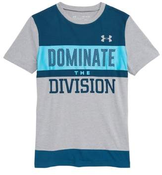 Under Armour Dominate the Division HeatGear(R) T-Shirt