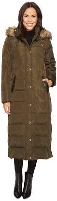 MICHAEL Michael Kors Long Unbelted Down M821607C Women's Coat