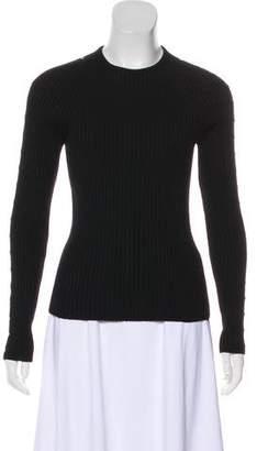 Celine Rib Knit Wool Sweater
