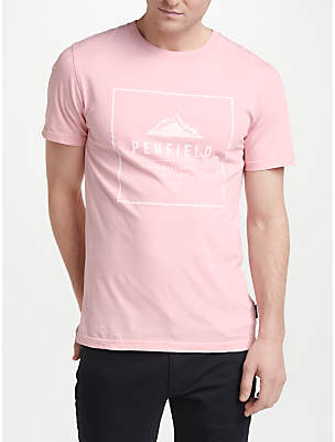 Penfield Alcala Printed Cotton T-shirt, Orchid