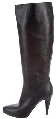 Balenciaga Leather Knee-High Boots