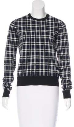 A.L.C. Plaid Knit Sweater