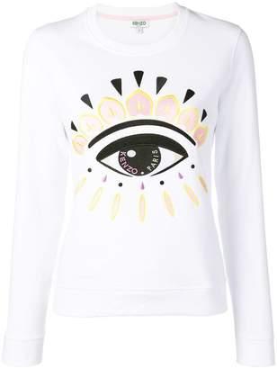 84b34925d3 Kenzo Evil Eye embroidered sweatshirt