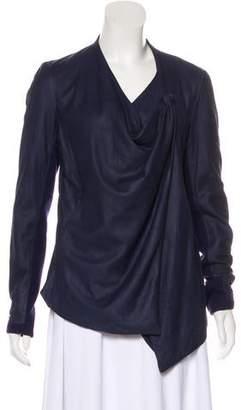 Helmut Lang Leather Lightweight Jacket