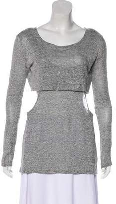 Rebecca Minkoff Layered Long Sleeve Top