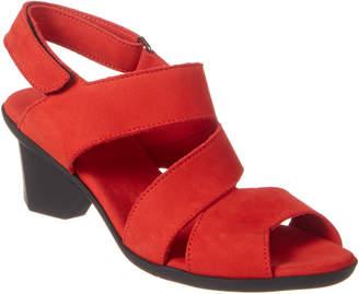 Arche Enorya Leather Heeled Sandal