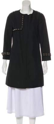 Gryphon Long Sleeve Studded Coat