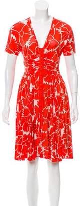 Tracy Reese Printed Midi Dress