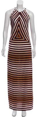 Kenzo Sleeveless Silk Dress