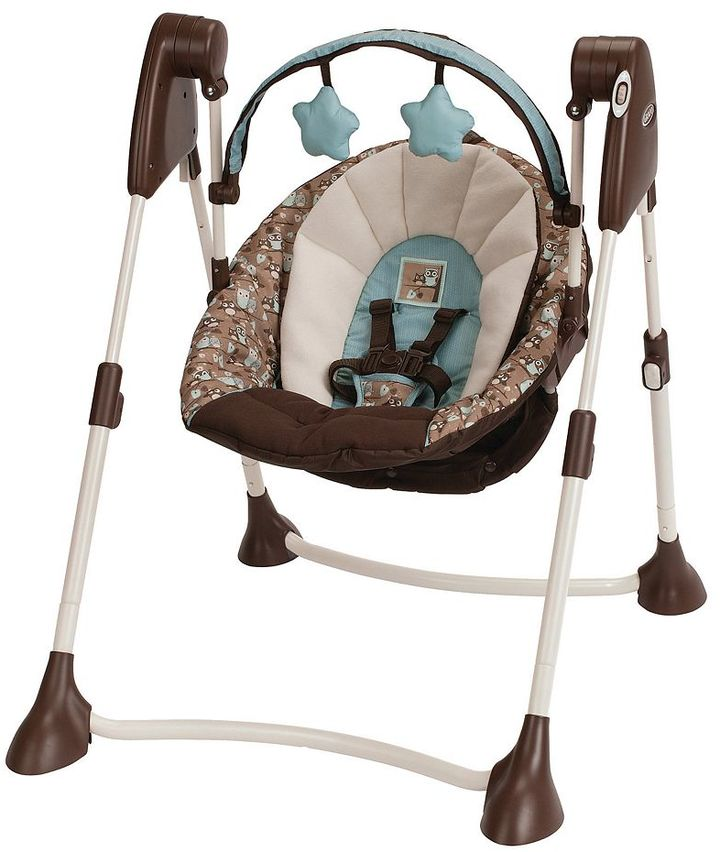 Graco swing by me portable swing - little hoot