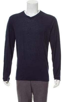 Giorgio Armani Cashmere & Silk Blend Sweater w/ Tags